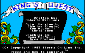King's Quest 0