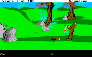King's Quest II: Romancing the Throne abandonware