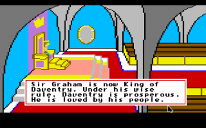 King's Quest II: Romancing the Throne 1