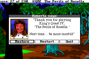 King's Quest IV: The Perils of Rosella 39