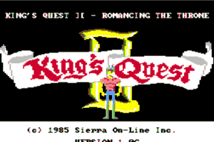 King's Quest II: Romancing the Throne 0