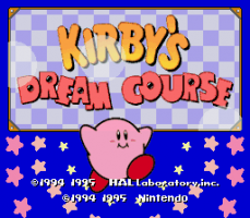 Kirby's Dream Course 0