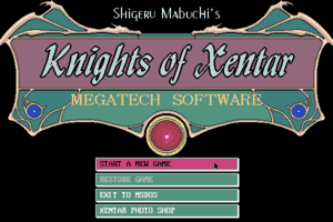 Knights of Xentar 0