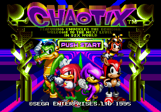 Knuckles' Chaotix 0