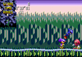 Knuckles' Chaotix abandonware