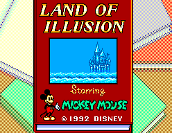Land of Illusion starring Mickey Mouse 1