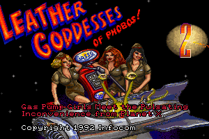Leather Goddesses of Phobos! 2: Gas Pump Girls Meet the Pulsating Inconvenience from Planet X 1