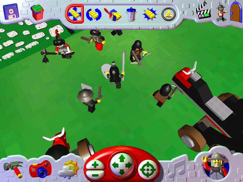 Download LEGO Creator: Knights' Kingdom (Windows) - My Abandonware