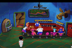 Leisure Suit Larry 1: In the Land of the Lounge Lizards 4