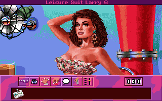 Leisure suit larry 6: shape up or slip out! My abandonware.