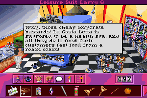 Leisure Suit Larry 6: Shape Up or Slip Out! 24