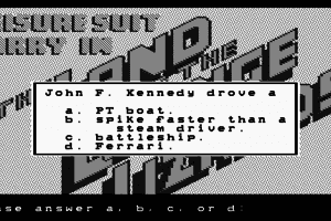 Leisure Suit Larry in the Land of the Lounge Lizards 25