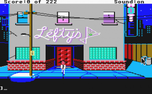 Leisure Suit Larry in the Land of the Lounge Lizards 1