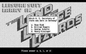 Leisure Suit Larry in the Land of the Lounge Lizards 20