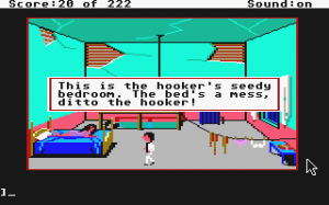 Leisure Suit Larry in the Land of the Lounge Lizards 4