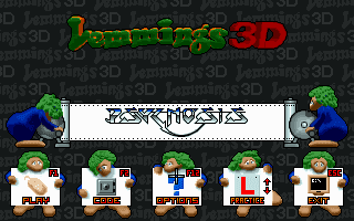 lemmings dos download