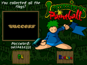Lemmings Paintball 13