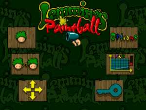 Lemmings Paintball 1