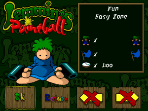 Lemmings Paintball 3