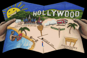 Les Manley in: Lost in L.A. abandonware