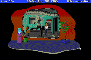 Les Manley in: Search for the King abandonware