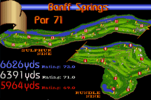 Links: Championship Course - Banff Springs 11