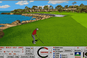 Links: Championship Course - Pebble Beach abandonware