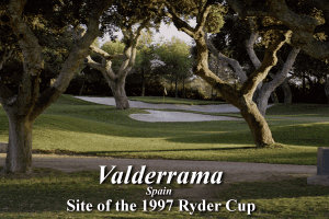 Links LS: Championship Course - Valderrama 9