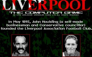 Liverpool: The Computer Game 1