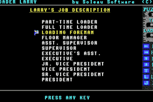 Loader Larry 5