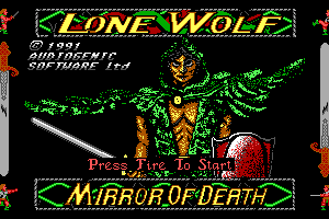 Lone Wolf: The Mirror of Death 0