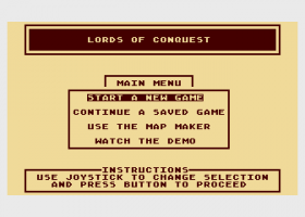 Lords of Conquest abandonware