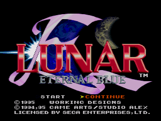 Lunar: Eternal Blue 2