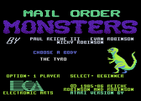 Mail Order Monsters abandonware