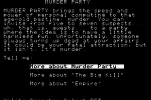 Make Your Own Murder Party 1