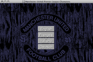 Manchester United Premier League Champions 3