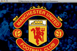 Manchester United Premier League Champions 4