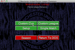 Manchester United Premier League Champions 5