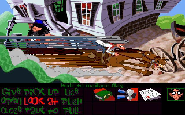 maniac mansion 2 day of the tentacle