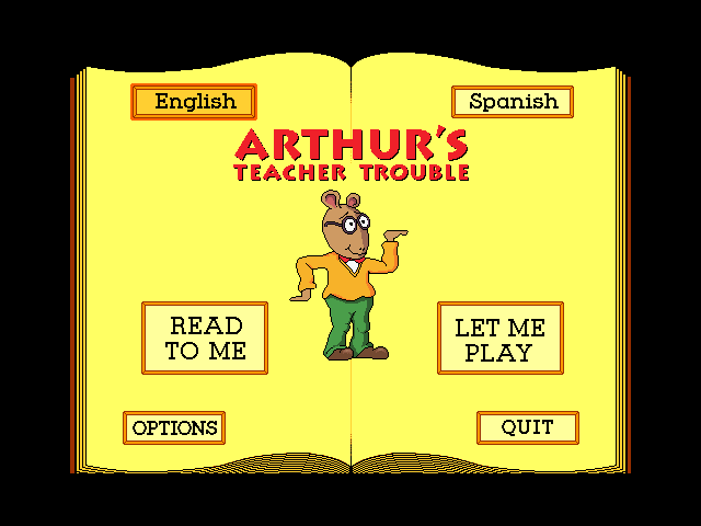 Marc Brown's Arthur's Teacher Trouble 1