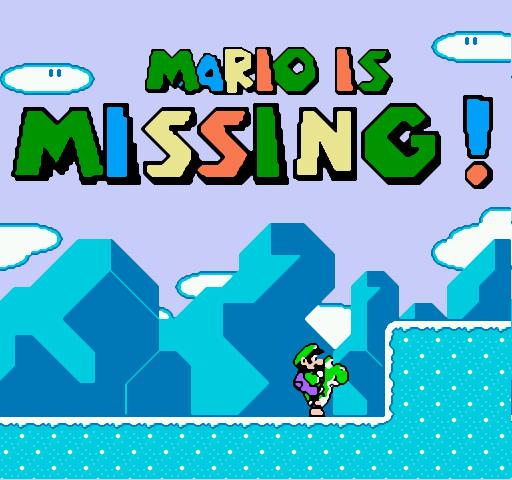 Mario is missing put