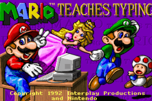 Mario Teaches Typing 0