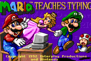 Mario Teaches Typing 10
