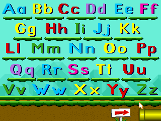 Mario's Early Years: Fun With Letters 3