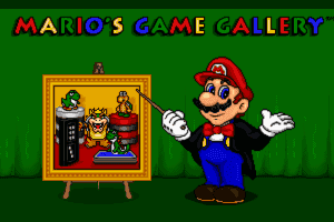 Mario's Game Gallery 0