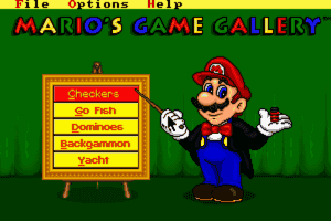 Mario's Game Gallery 1