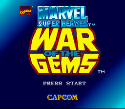 Marvel Super Heroes in War of the Gems 1