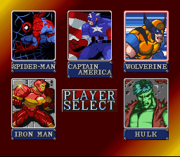 Marvel Super Heroes in War of the Gems 3