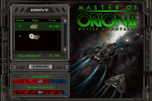Master of Orion II: Battle at Antares 0