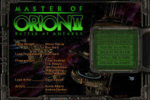 Master of Orion II: Battle at Antares 2